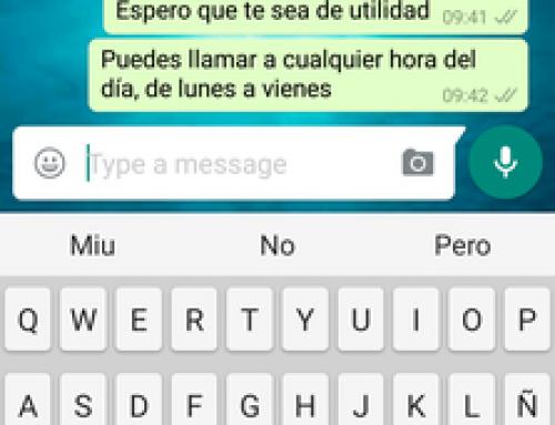 Cómo enviar un Contacto por WhatsApp
